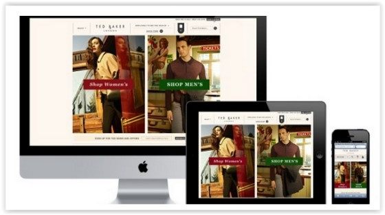 Ted Baker online retail