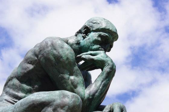 The Thinker.