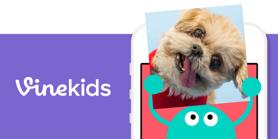 Vine Kids logo.
