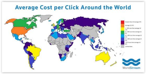 WordStream map