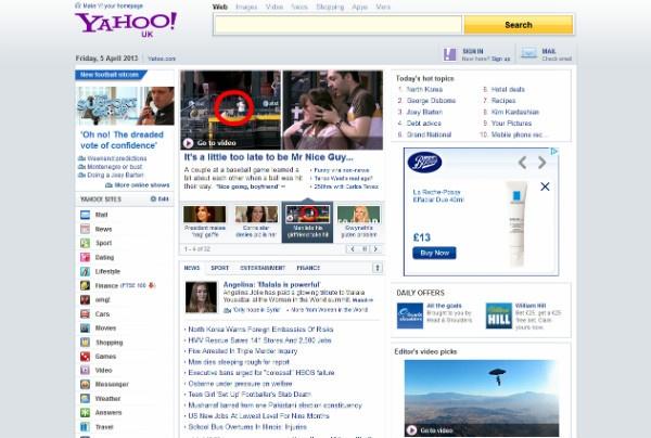 Yahoo new