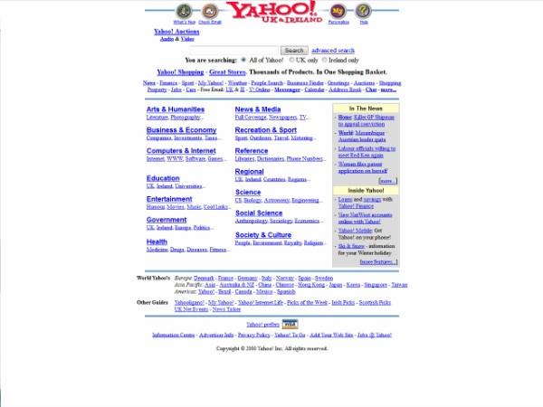 Yahoo old