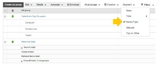 Bing Ads Segmentation