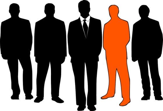 businessmen graphic