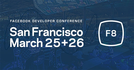 Banner for F8 event.
