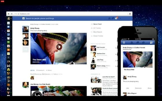 New Facebook News Feed