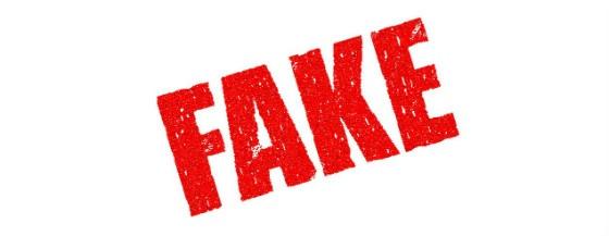 Fake stampt