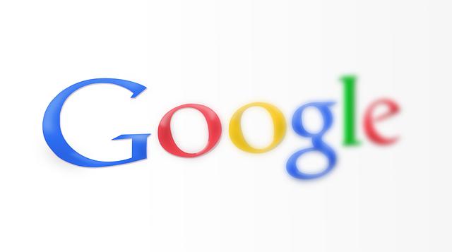 Google logo.