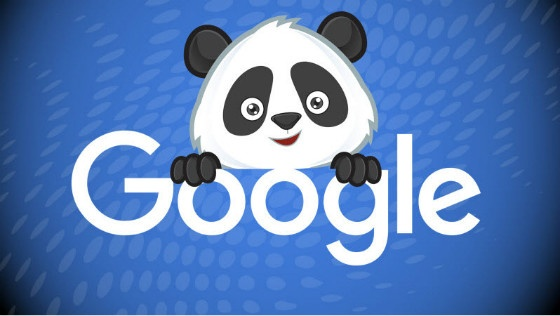 Google Panda cartoon