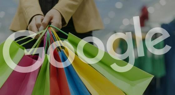 Google an shopping bags