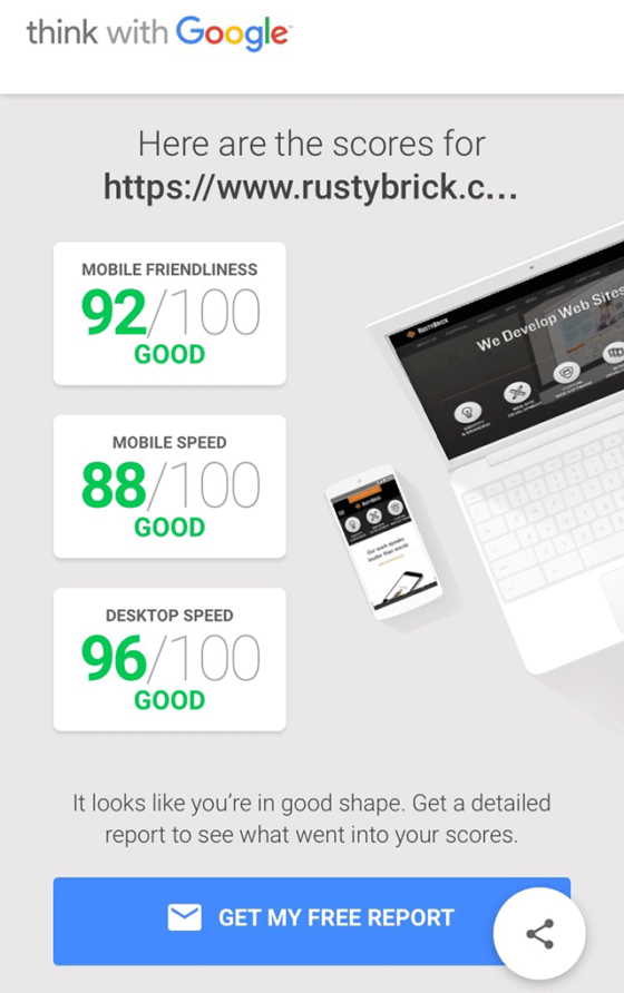 googles new mobile friendly and page speed tool - INDUSTRY NEWS