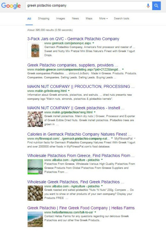 Images in Google SERPs