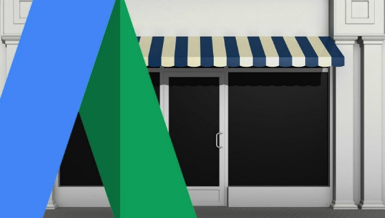 store front and AdWords Logo