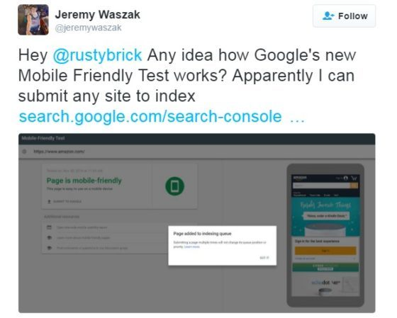 jeremy waszack mobile friendly