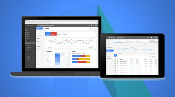 new adwords interface