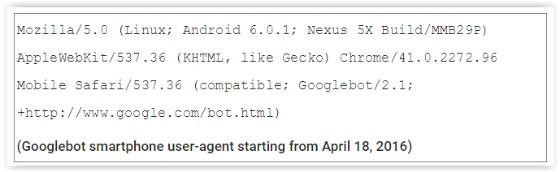new googlebot
