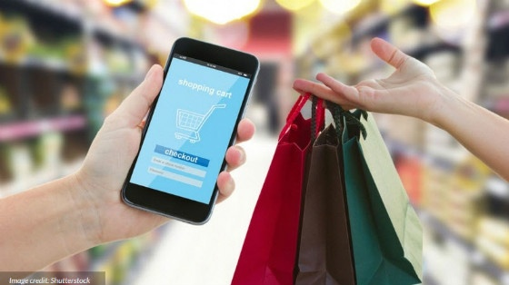 e-commerce on mobile