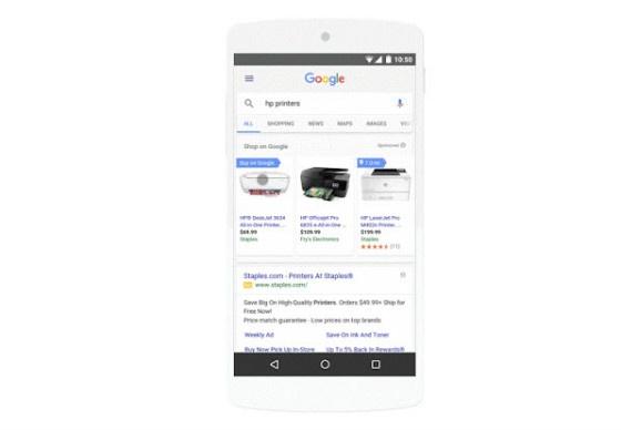 Google ads on mobile