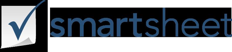 Smartsheet logo.