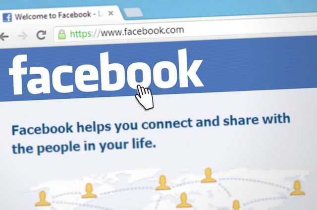 The Facebook website.