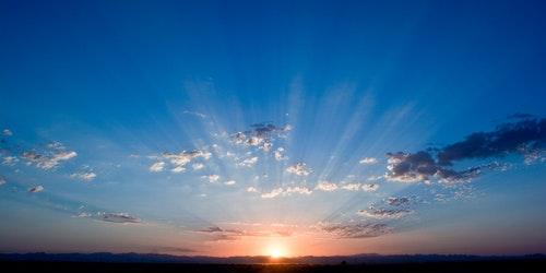 sunrise-sky-blue-sunlight-67832