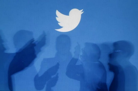 Twitter Logo with user silhouettes