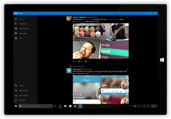 Twitter on Windows