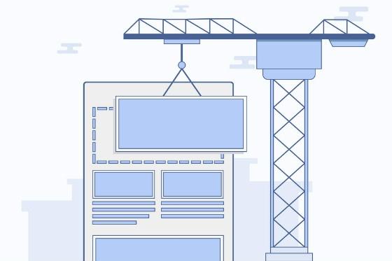 web page build