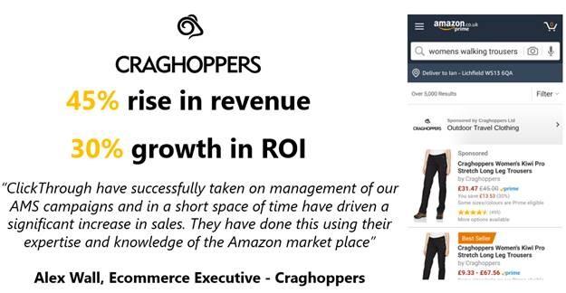 Amazon Case Study: Craghoppers