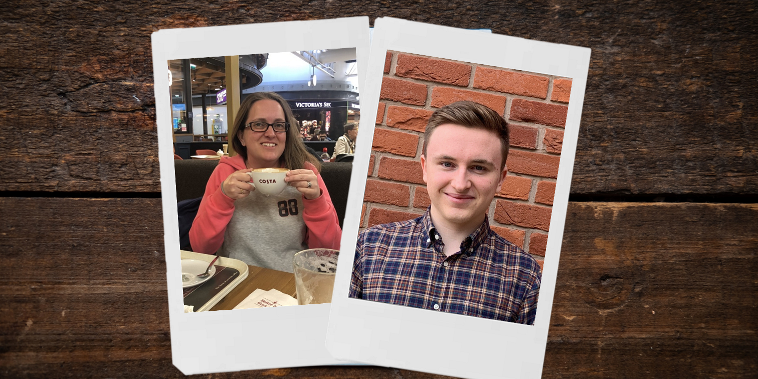 Congratulations to our TWO employees of the month - Katy and Jack!