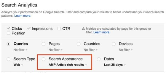 Google Search Analytics Makes AMP Reporting More Granular