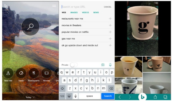 Bing App Introduces Image Search