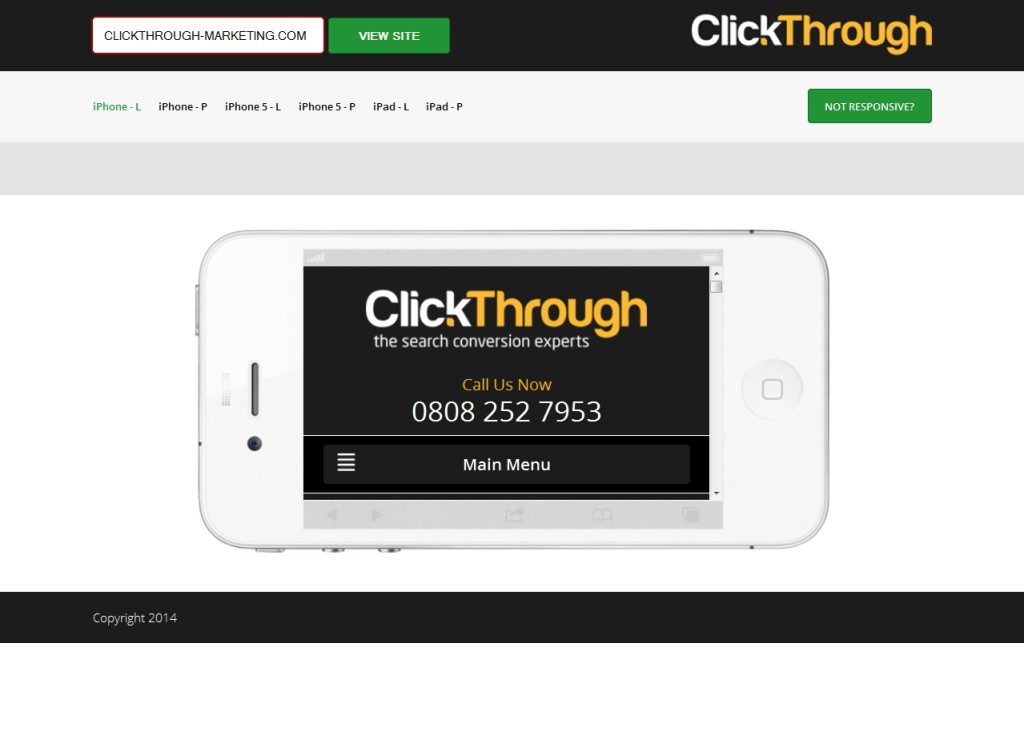 Test Responsive Design With Our Mobile Site Detection Tester