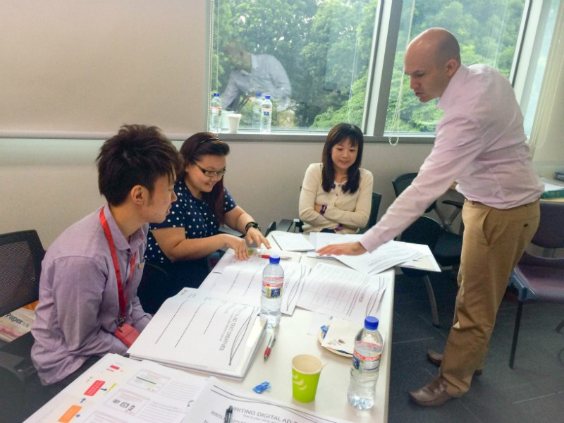 ClickThrough Delivers Digital Marketing Training for AIA