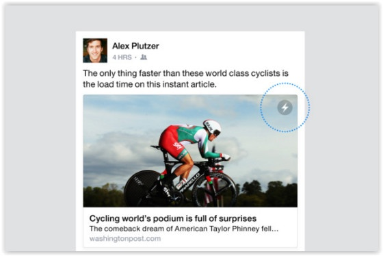 Facebook Introduces Instant Articles for all iOS users