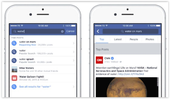 Social Media News Roundup: Facebook Updates Search