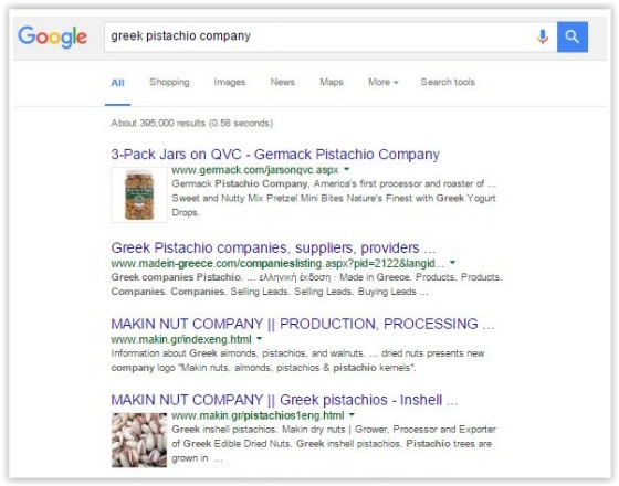 Google Tests Images in SERPs