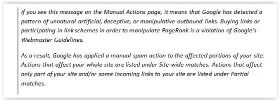 Google Penalises Unnatural Outbound Links