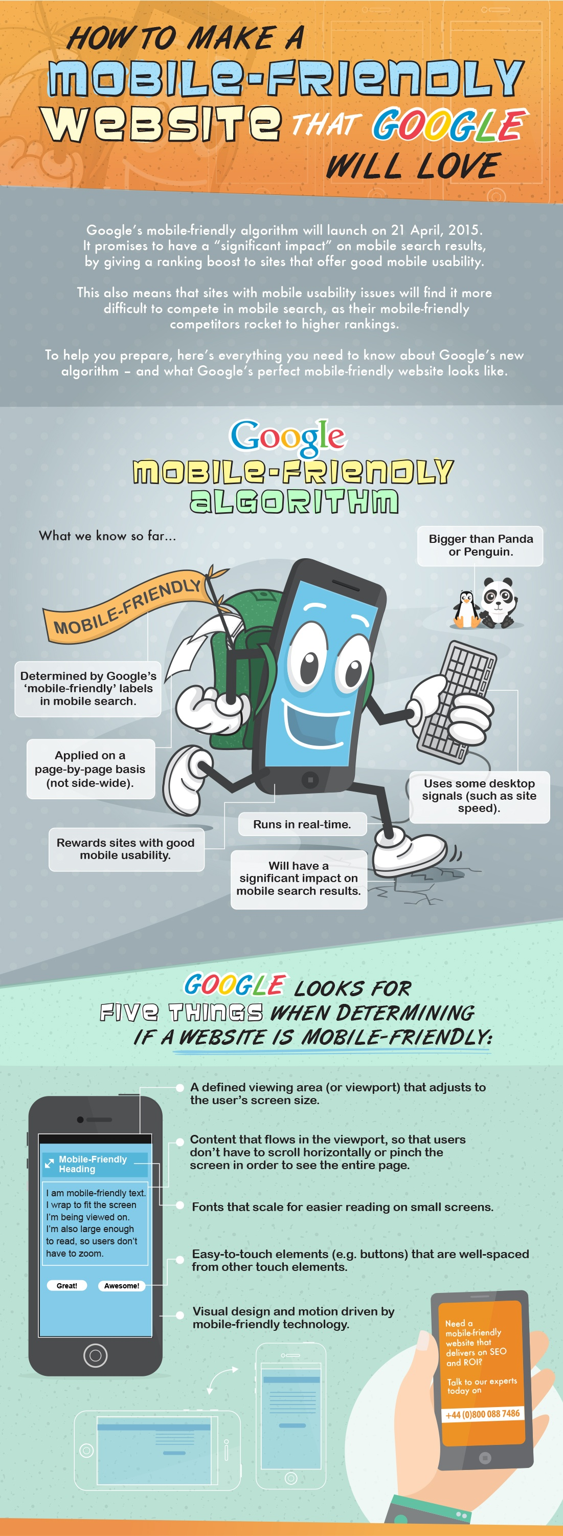 How to Make a Mobile-Friendly Website That Google Will Love [Infographic]