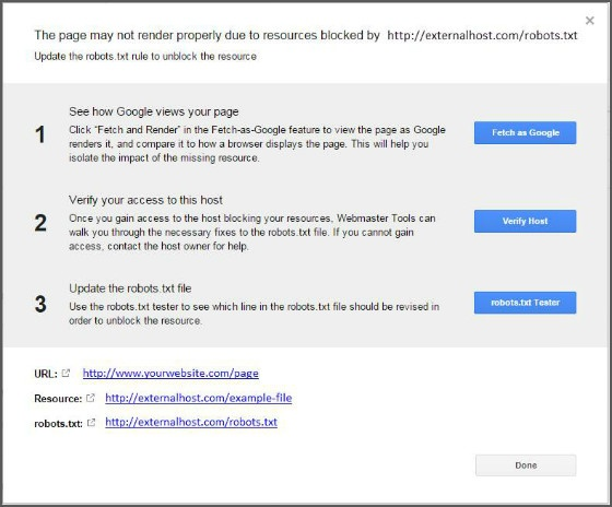 Beth's SEO How-Tos: Using the New Blocked Resources Report in Google Webmaster Tools