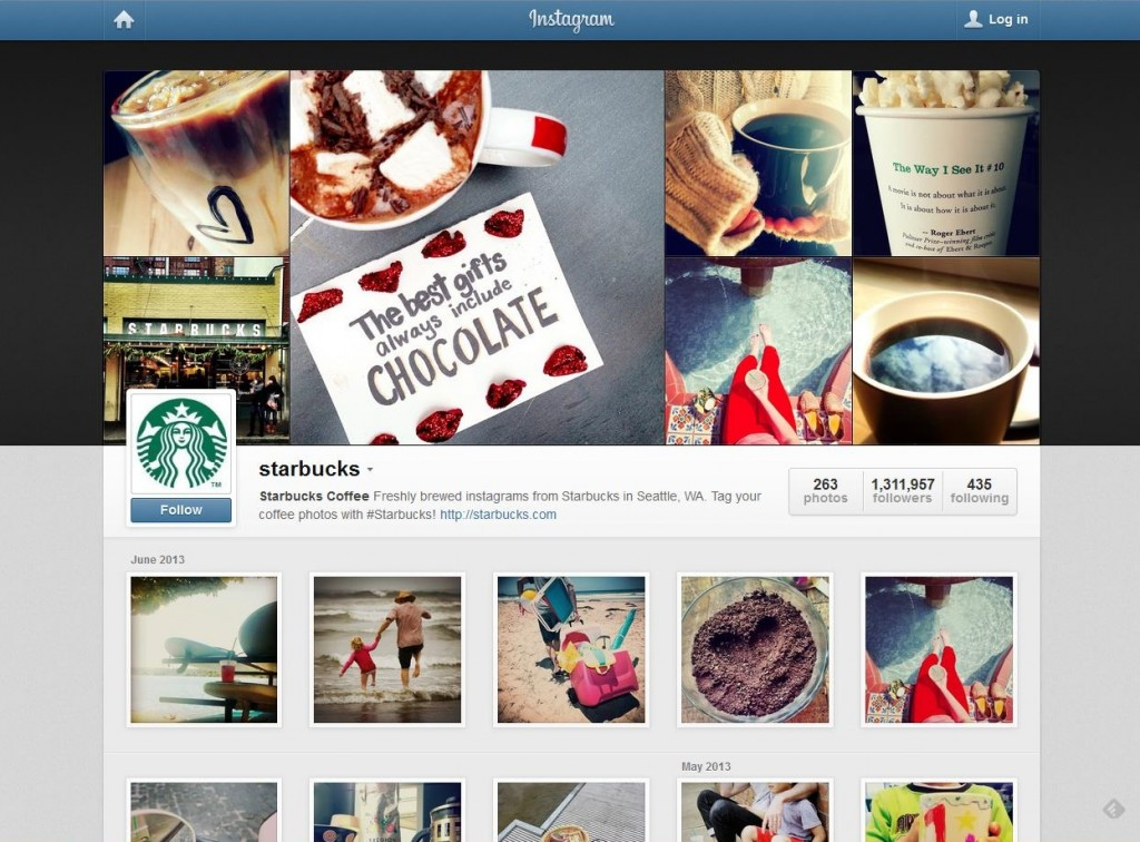 Social Media Marketing: How Starbucks and General Electric Use Instagram
