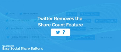 Social Media News Roundup: Twitter Removes Share Counts