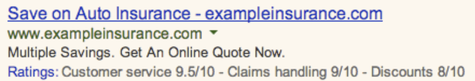 Google Rolls Out Consumer Ratings Annotations in AdWords