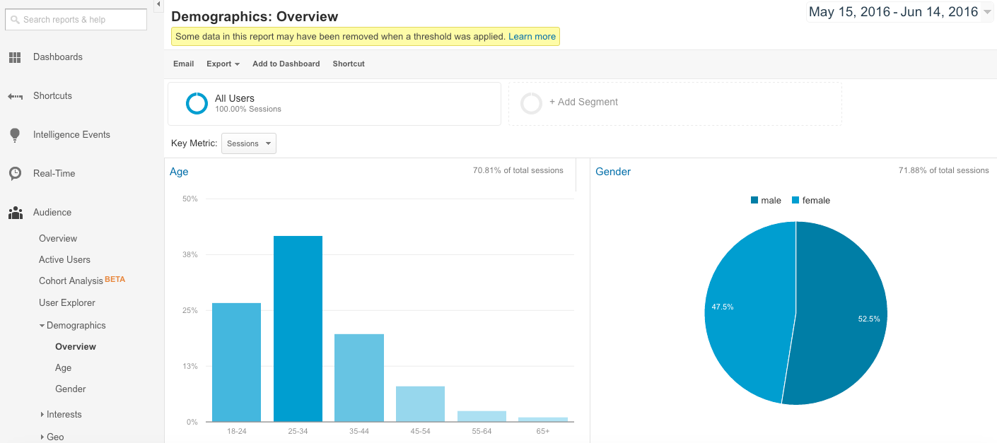Did You Know You Can Review Your Website Visitor Demographics in Google Analytics?
