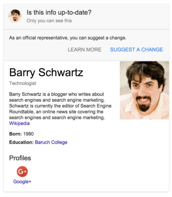 SEO News Roundup: Google Allows Edits To Knowledge Graph Cards