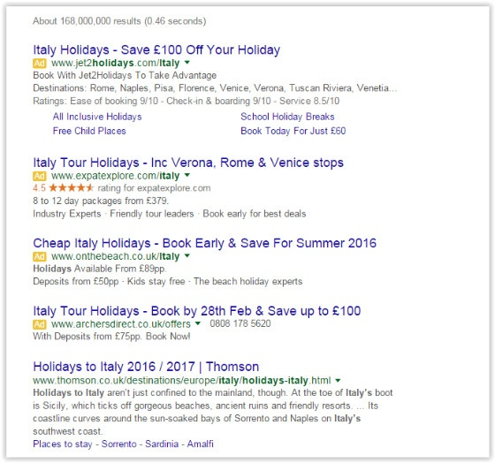 The AdWords Sidebar Update - An example of how to review the impact of changes in digital marketing