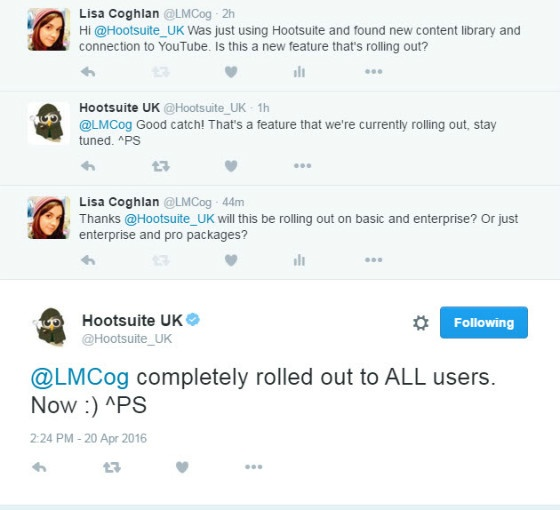 Hootsuite Unveils YouTube Integration and Content Library