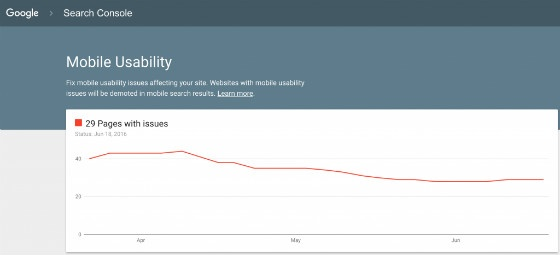 Google Search Console Tests New Mobile Usability Report