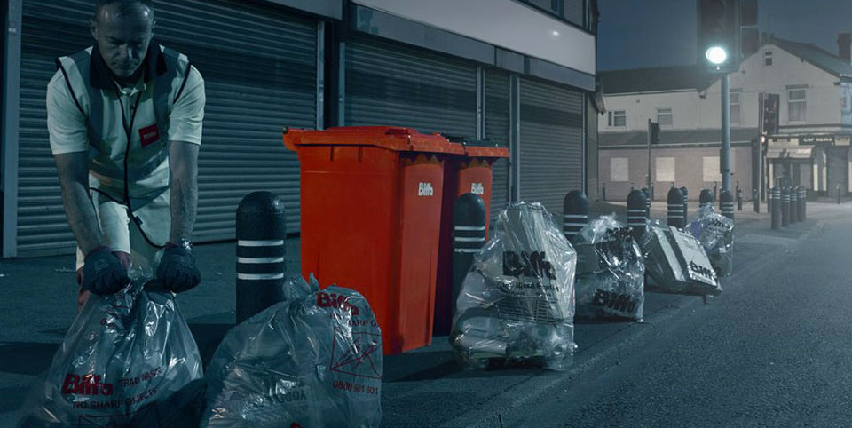 Biffa waste services bespoke web development