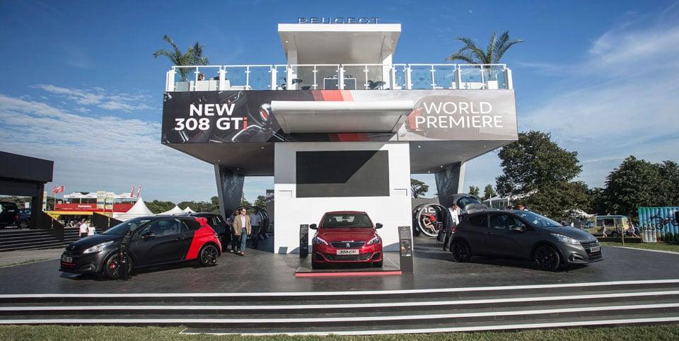 Peugeot Goodwood festival of speed online pr